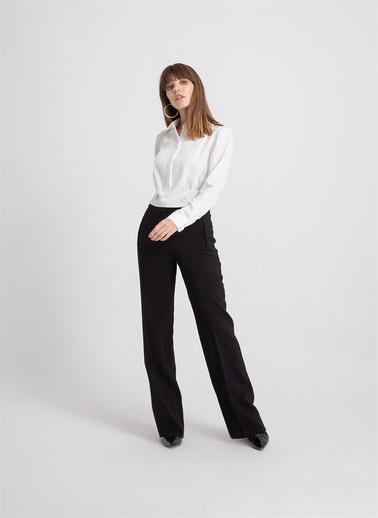 Rue Bol Form Klasik Pantolon Siyah